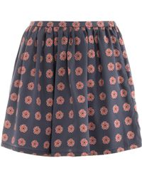 Opening Ceremony - Rose Print Shorts - Lyst