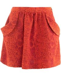 Vivienne Westwood Anglomania - Scale Print Tulip Skirt - Lyst