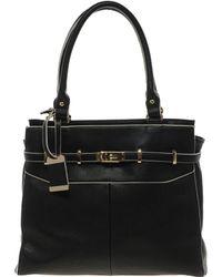 Oasis - Workwear Lock Tote Bag - Lyst