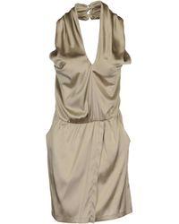 Patrizia Pepe Short Dresses - Lyst