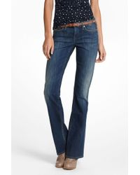 Anthropologie - Crafted Tender Bootcut - Lyst