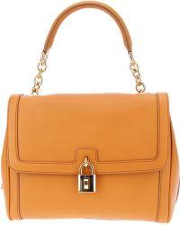 Dolce & Gabbana Padlock Shoulder Bag - Lyst