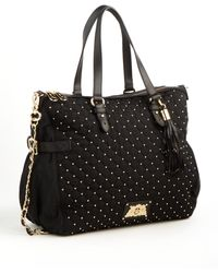 Juicy Couture Studded Quilted Tote Bag - Lyst