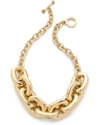 Juicy Couture - Chunky Link Necklace - Lyst