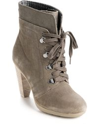 Kenneth Cole Reaction Fun Hunt Ankle Boots - Lyst
