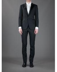 Lanvin Black Dinner Suit - Lyst