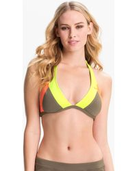Nike Bondi Halter Bikini Top - Lyst