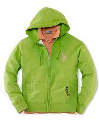 Polo Ralph Lauren Hooded Fleece Sweatshirt - Lyst