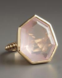 Stephen Dweck - Faceted Rose Quartz Ring - Lyst