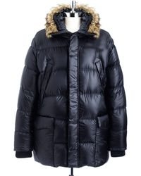 Victorinox - Faux Fur Hooded Down Coat - Lyst