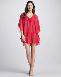 Betsey Johnson Sweetness Dotted Coverup - Lyst