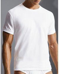 Calvin Klein Flexible Fit Crewneck Tshirt Set Of 2 - Lyst