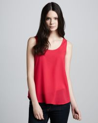 French Connection Flash Fancy Loose Tank - Lyst