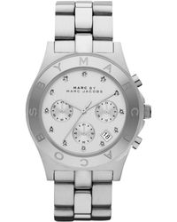 Marc By Marc Jacobs Ladies Blade Stainless Steel Chronograph Watch - Lyst
