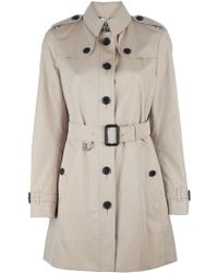 Burberry Leamington Trench beige - Lyst