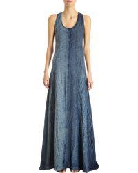 Gilda Midani - Long Shibori Dyed Trapeze Tank Dress - Lyst