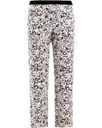 Giles Bitsy Print Trousers - Lyst
