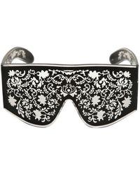 KTZ - Metal Embroidery Sunglasses - Lyst