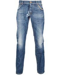 Dolce & Gabbana Straight Leg Jeans - Lyst