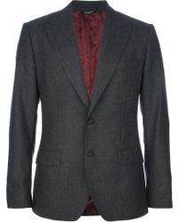 Dolce & Gabbana Button Fastening Blazer - Lyst