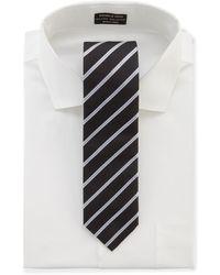 Hugo Boss Striped Tie - Lyst
