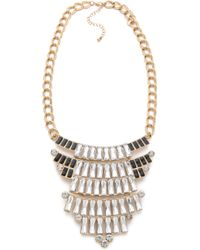 Adia Kibur - Crystal Bib Necklace - Lyst