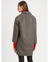 Peter Som - Mini Houndstooth Coat - Lyst