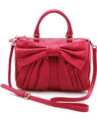RED Valentino Bow Duffle Bag - Lyst