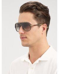 Lanvin Aviator Sunglasses - Lyst