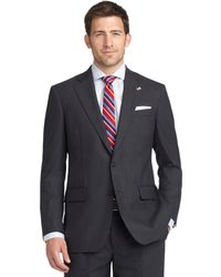 Brooks Brothers Madison Fit with Shadow and Mini Bead Stripe Suit - Lyst