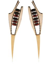 Iosselliani - Deco Spike Earrings - Lyst