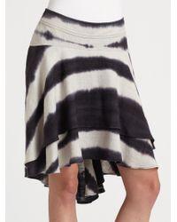 Kelly Wearstler Multicolor Totem Skirt - Lyst
