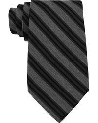 Calvin Klein Striped Tie - Lyst