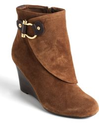 Jones New York - Wedge Ankle Boots - Lyst