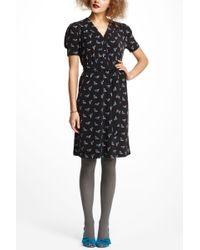 Karen Walker - Bluebird Midi Dress - Lyst