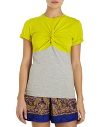 Carven Colorblocked Top - Lyst