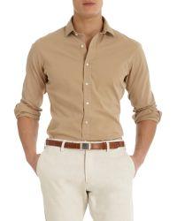 Ralph Lauren Black Label - Spread Collar Shirt - Lyst