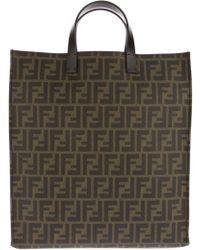 Fendi Monogram Shopper Bag - Lyst
