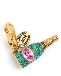 Juicy Couture Champagne Charm - Lyst