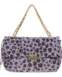 Boutique Moschino - Leather Animal Print Bag - Lyst