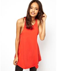 ASOS Collection Asos Vest in Oversize and Wash - Lyst