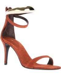 Giuseppe Zanotti Double Ankle Strap Sandals - Lyst