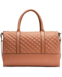 Mango Touch Quilted Bowling Bag - Lyst