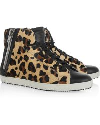 Pour La Victoire Heydi Leather Sneakers - Lyst