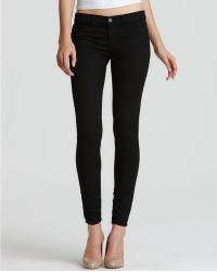 J Brand Black Denim Leggings - Lyst