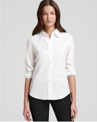 Theory Shirt Larissa Luxe - Lyst