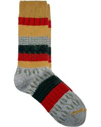 Vanishing Elephant Multi Pattern Socks - Lyst
