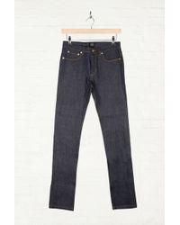 A.P.C. Petit Standard Selvedge Raw Denim Jeans - Lyst