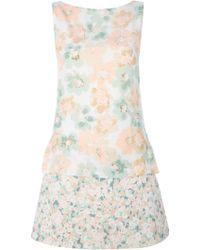 Moschino Tank Dress - Lyst