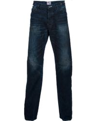 PRPS Distressed Straight Leg Jeans - Lyst